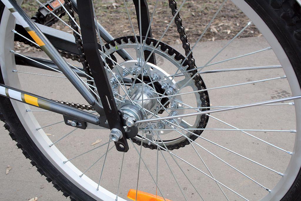 Как сделать велосипедную звездочку в домашних условиях