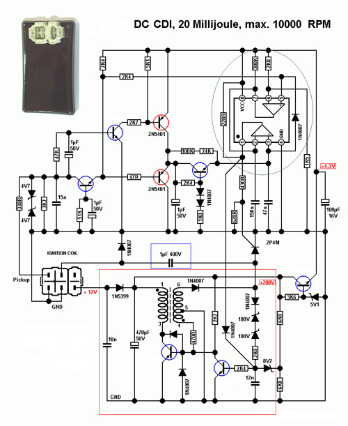 Dc Cdi on e scooter wiring diagram