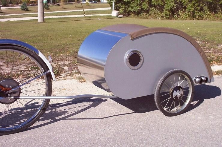 Прицеп на велосипед чертежи