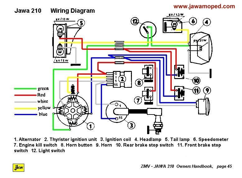 velosolex wiring diagram